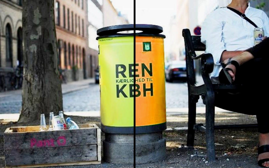 Why Littering Bins Shouldn't Be Green – But Orange!
